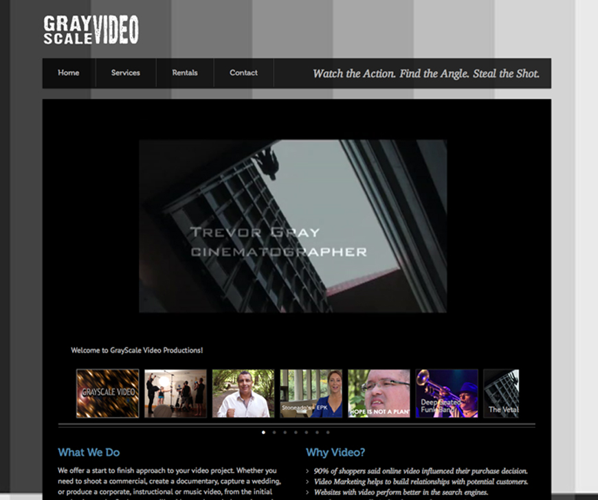 GrayScale Video Productions Inc